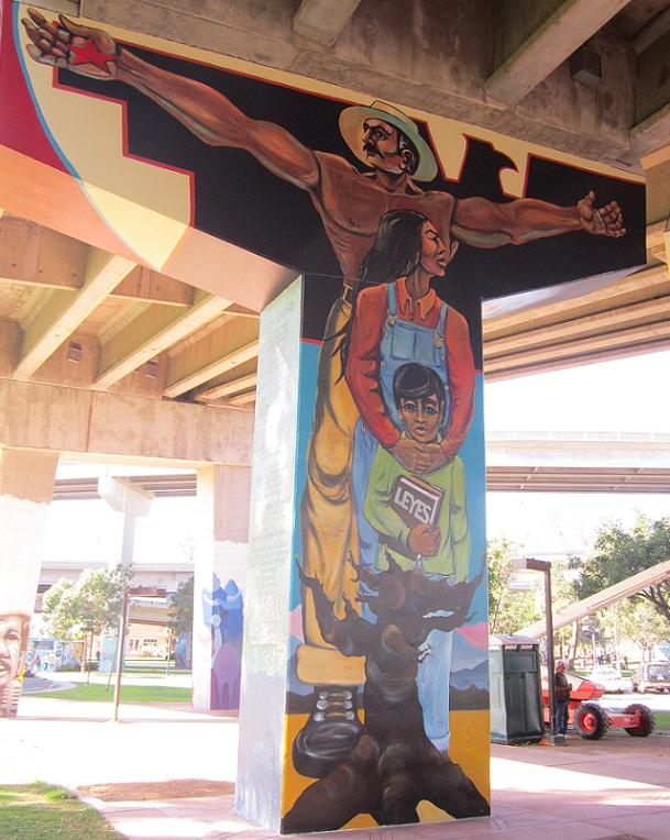 leyes la familia a chicano park mural write2think